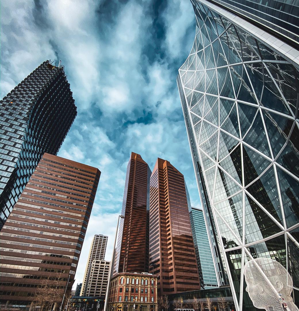 Dowtown Calgary, AB, Canada