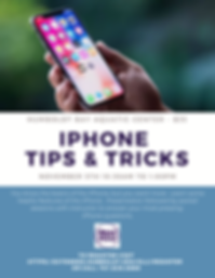 _iPhone Tips & Tricks Fall 2019 Flyer.pn