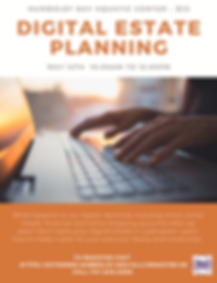 Digital Estate Planning Flyer Spring 202