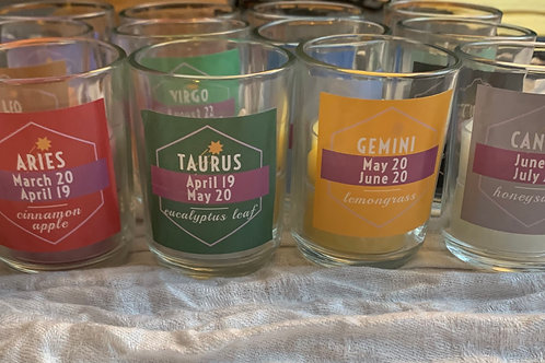 Calyx Kre Astrology Candle Collection