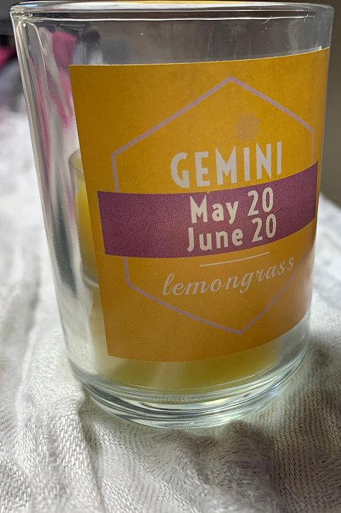 Gemini Lemongrass Candle