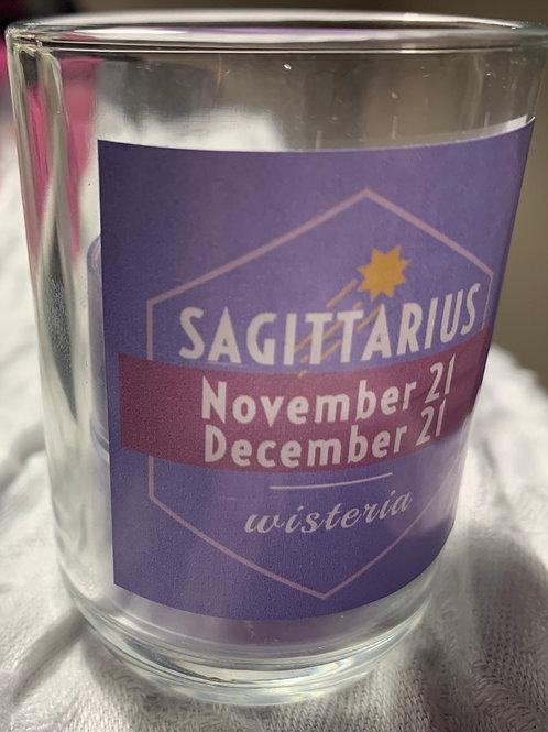 Sagittarius Wisteria Candle