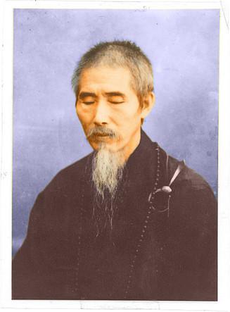 Xu Yun meditando a los 115 años