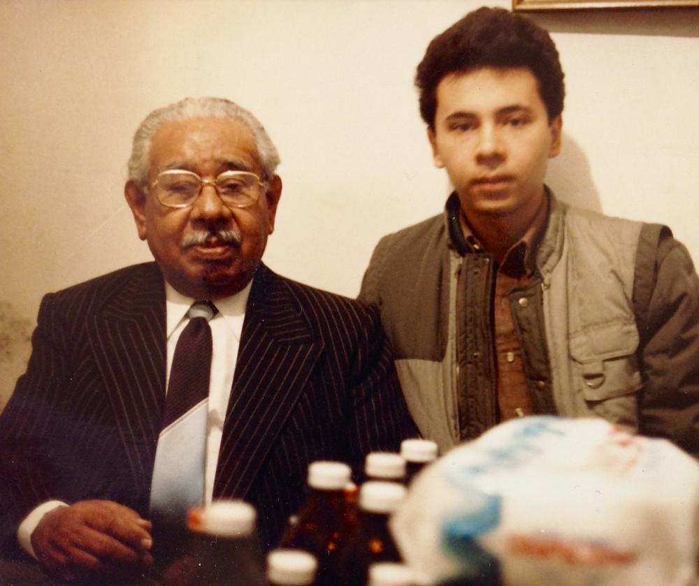 VM Gran Maestro Prisciliano Cobos Mar y Eduardo Barraza regalado a mediados de los años 80's