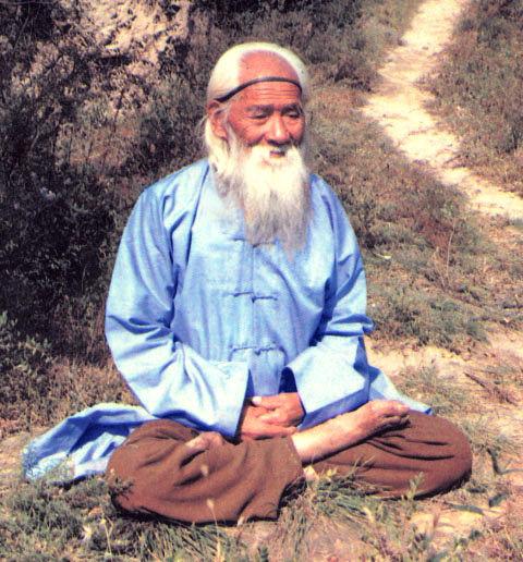 Wu Yunqing meditando a los 160 años