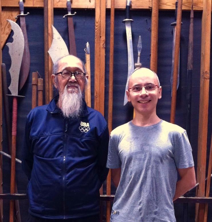 Sifu James Wing Woo y Eduardo Barraza Regalado