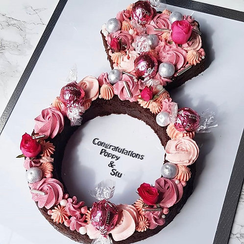 Engagement/Wedding Ring Dessert (Local Delivery or Collection only)