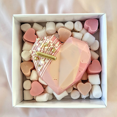 Valentine's Hot Chocolate Bomb