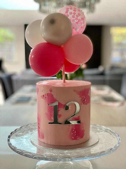Balloon Mini Cake