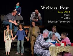 Writers Fest cast photo