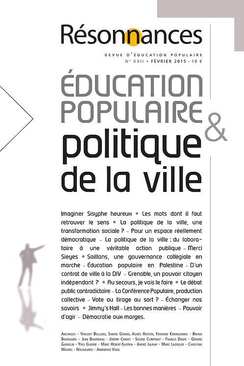 N°22 Education Populaire & Politique de la ville