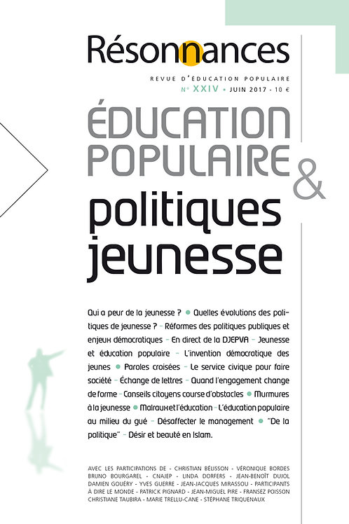 N°24 Education Populaire & Politiques Jeunesse