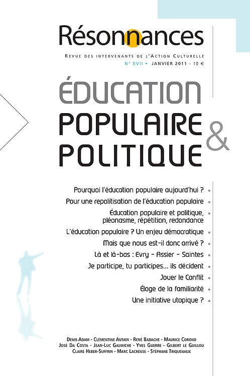 N°17 Education Populaire & Politique