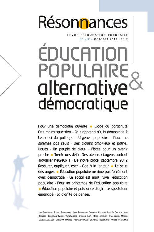 N°19  Education Populaire & Alternative Démocratique