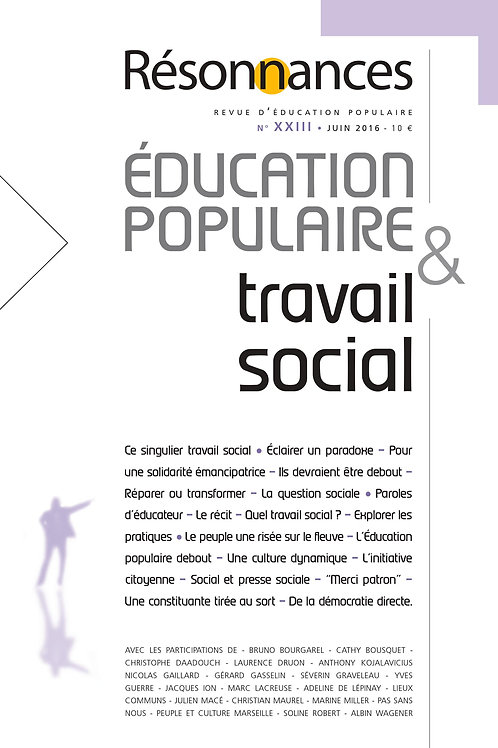 N°23 Education Populaire & Travail Social