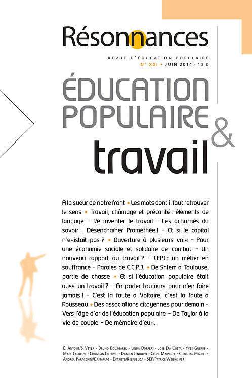N°21 Education Populaire & Travail