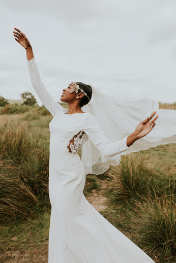 "Alicia Jordan X ""Woodland Bridal"""