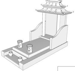 Monument Asiatique 2