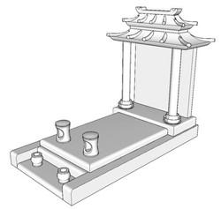 Monument Asiatique 1