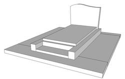 Monument funéraire création H10