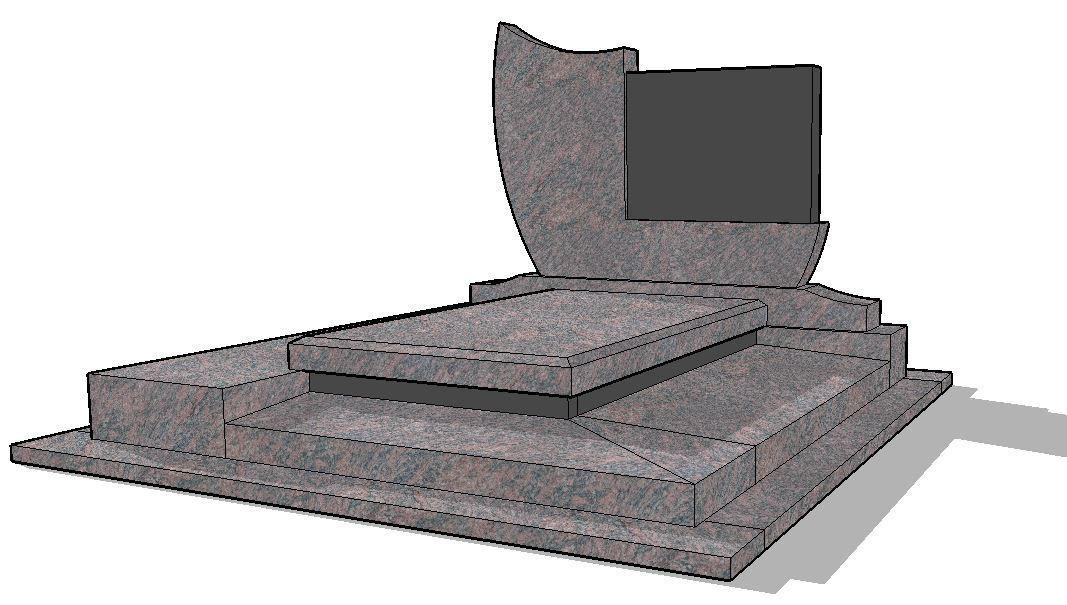 monument funéraire double H1