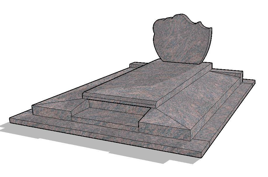 Monument funéraire création H 4