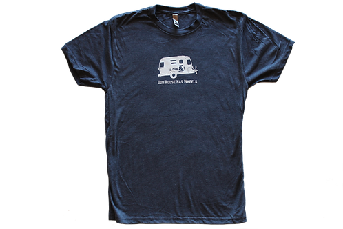 Our House Has Wheels T-shirt (Men's)