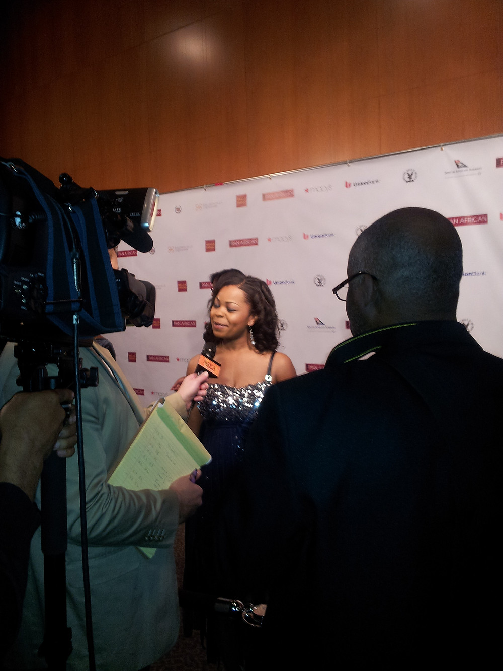 The Pan African Film Festival was a great experience and I enjoyed networking and meeting new people. I was excited that Pathways of Life feature film was accepted into the second largest black film festival which was held in California.