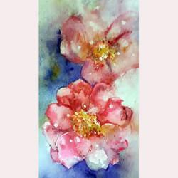 Garden flowers 2 by Rachel