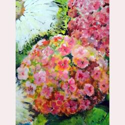 Garden flowers 2 by Nicola