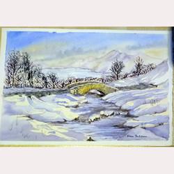 Winter scene by Fran