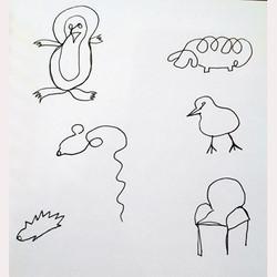 Line Drawings by Dee