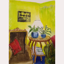 Light at home by Fran