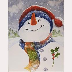 Snowman by Julia Whitehead