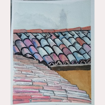 Roof tops by Fran