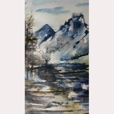 Landscape by Rachel