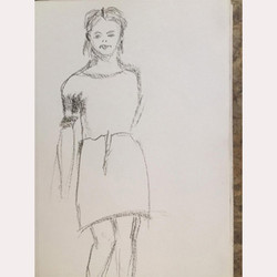 Sketch by Julie