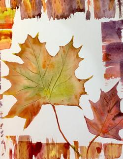 Leaves by Dee