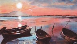 Daphne's Sunrise over the Basin de Thau