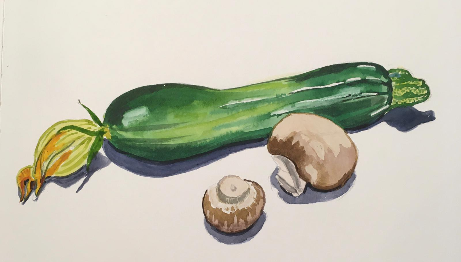 Vegetables by Dee