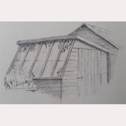 Rachel's shed by Carole