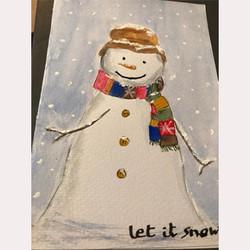 Snowman by Jenni Wong