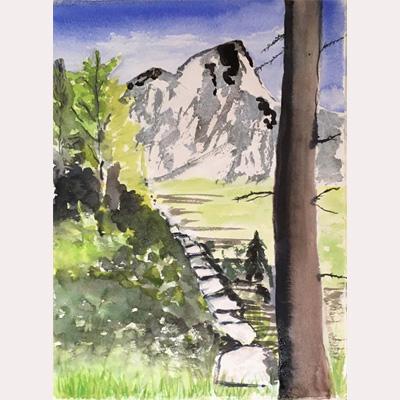 Landscape by Dee