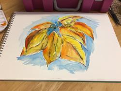 Leaves by Brenda