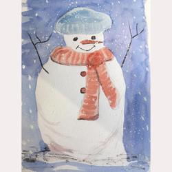Snowman by Dee