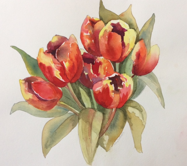Maureen's Tulips