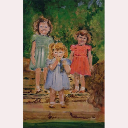 Nicola with her sisters by Nicola