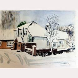 Winter scene by Dee