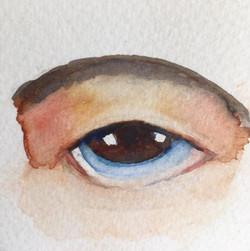 A human eye by Maureen