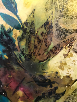 Leaves by Moyra